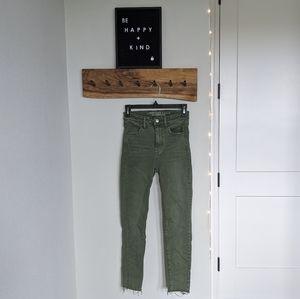 Super high-rise aeo jeans